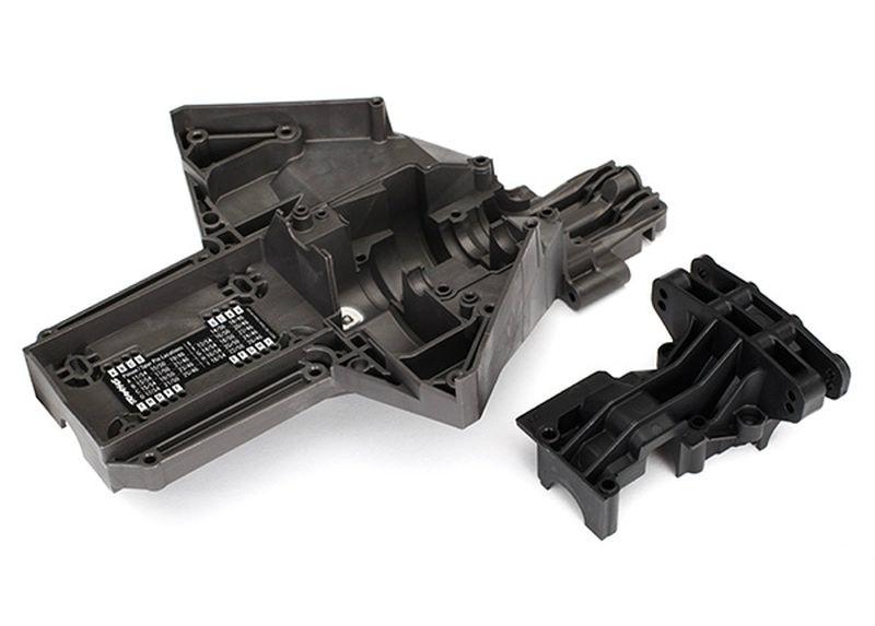Traxxas Bulkhead, rear (upper & lower), center differential
