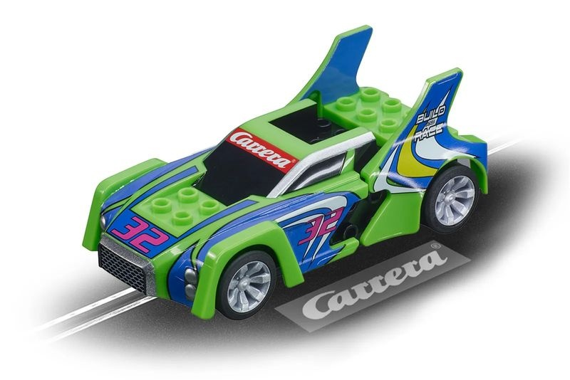 Carrera Go!!! Build n Race - Race Car green