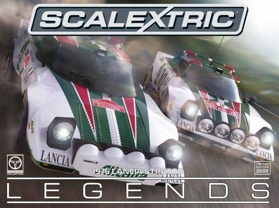 Scalextric Legends Lancia Stratos 1976 Rally Champions
