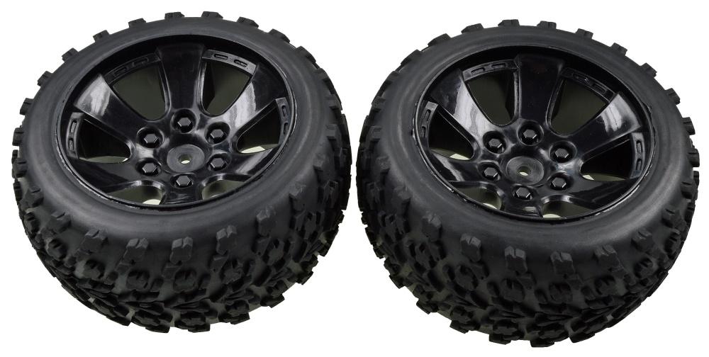 Carson FY10 Truggy Reifen-/Felgenset (2)