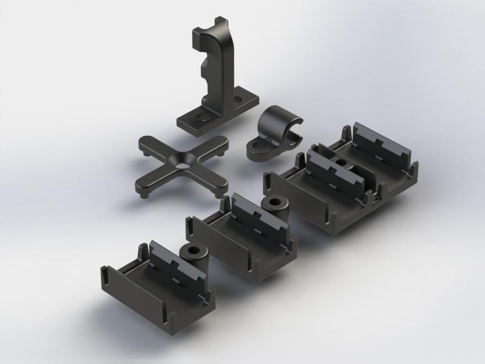 Arrma RC Kabelhalter-Set
