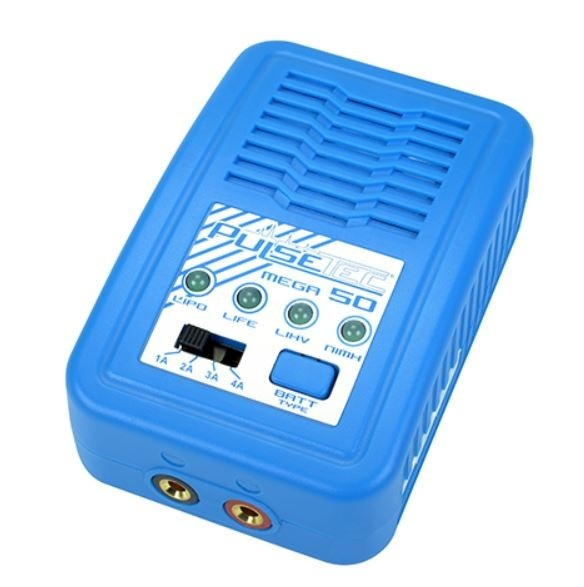 Pulsetec - Charger - Mega 50 - AC 100-240V - 50W Power -