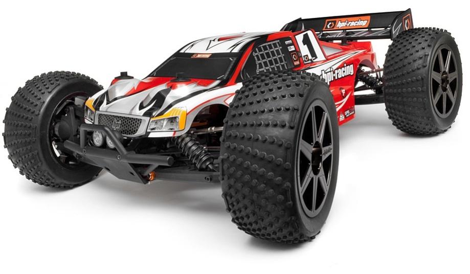 HPI Trophy 4WD Elektro Truggy Flux BL 2.4GHz RTR 1:8