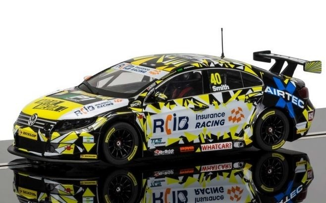 Scalextric BTCC VW Passat, Aron Smith