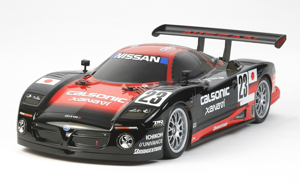 Tamiya Nissan R390 GT1 (TT-01E) Bausatz 1:10