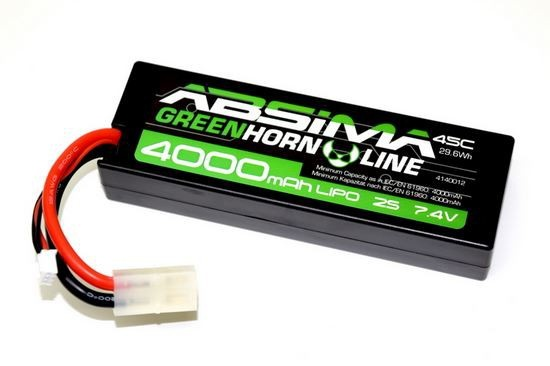 Absima LiPo Stick Pack 7.4V-45C 4000 Hardcase (Tam)