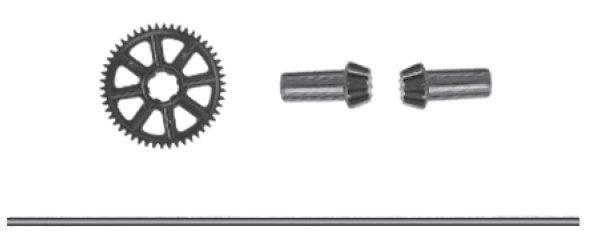 Absima Main Drive Shaft & Gear
