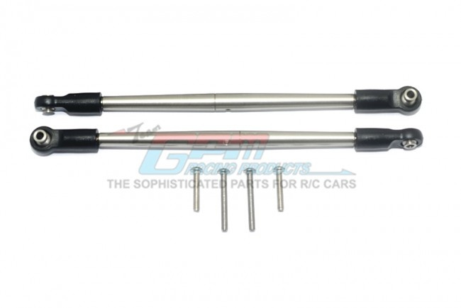GPM stainless steel 304 front/rear turnbuckle for steering -