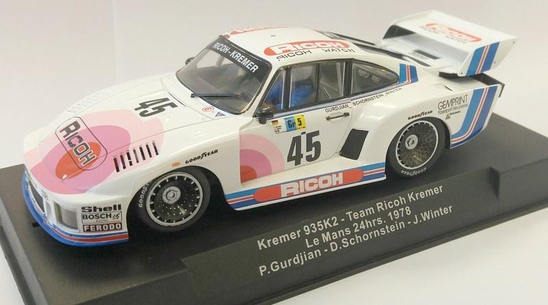 Sideways Kremer 935 K2 Team Ricoh Kremer 24h Le Mans 1978