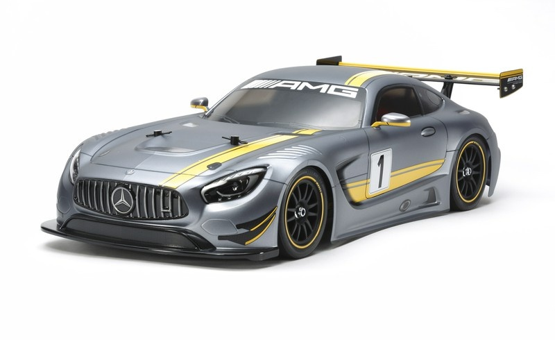 Tamiya RC Mercedes-AMG GT3 (TT-02) Bausatz 1:10
