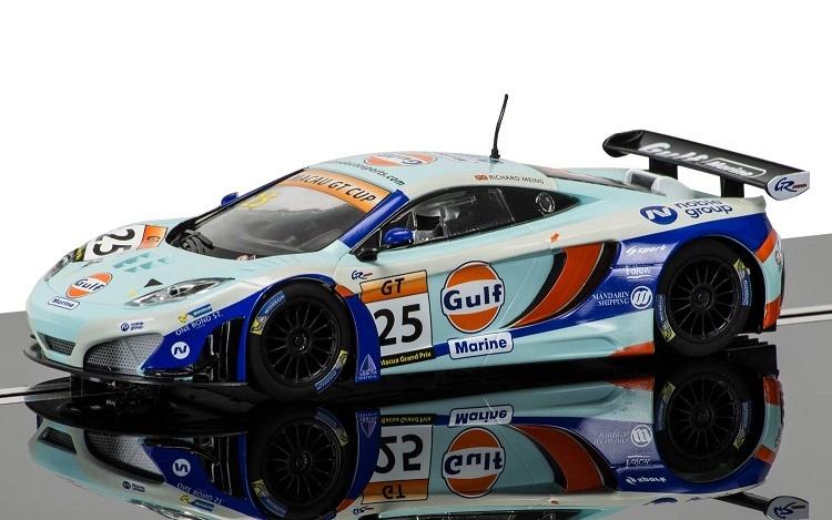 Scalextric McLaren 12C GT3 Gulf #25 2014