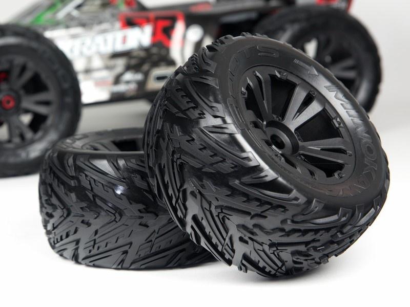 Arrma RC DBOOTS MINOKAWA MT 6S Reifen Set verklebt