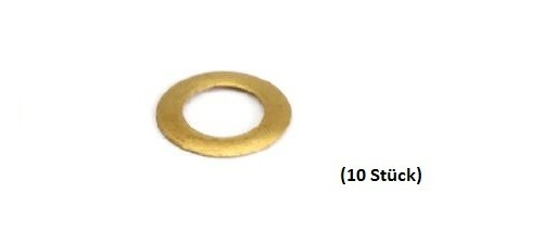 NSR Pick-Up Guide Spacers/Leitkieldistanzen .005 BRASS (10)