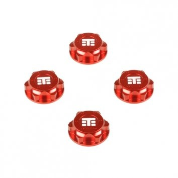 Tekno RC TKR5116BR - Wheel Nuts (T Logo, 17mm, serrated,