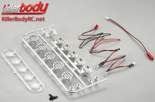 Killerbody Lichtset - 1/10 Truck - Scale - LED - Dach