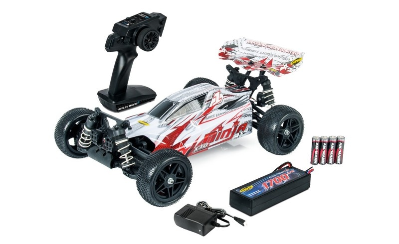 Carson RC X10 Ninja 4WD Rookie-Buggy 2.4GHz RTR 1:10