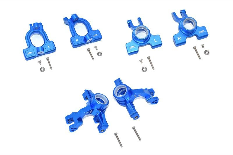 GPM Aluminum Front C-Hubs, Front & Rear Knuckle Arms