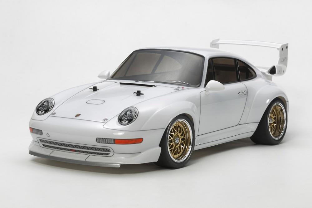 Tamiya RC Porsche 911GT2 Racing TA02SW Bausatz 1:10