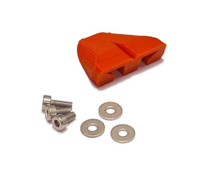 JS-Parts Lufthutze für Arrma Kraton V4 rot