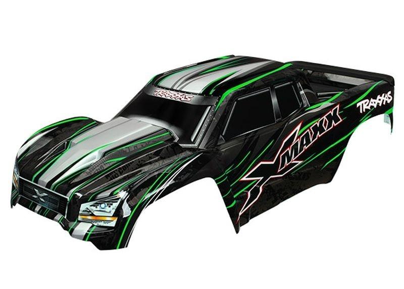 Traxxas Karosserie, XMAXX grün