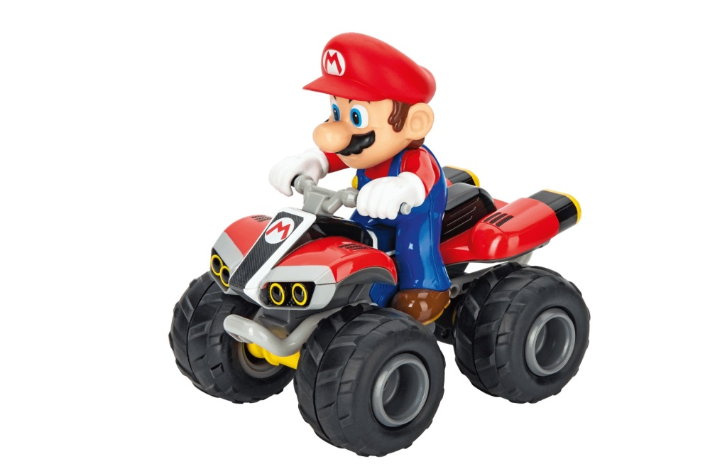 Carrera RC 2,4GHz Mario Kart(TM), Mario - Quad