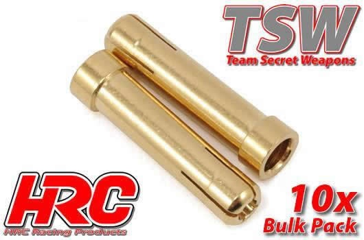 HRC Racing Stecker - Gold - TSW Pro Racing - Adapter Rohr -