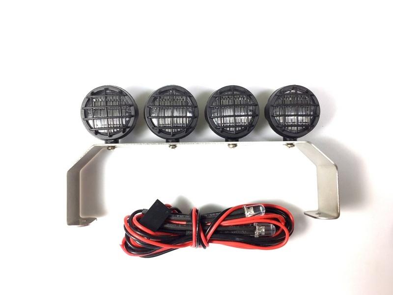 Absima Lichtleiste Rund mit LEDs
