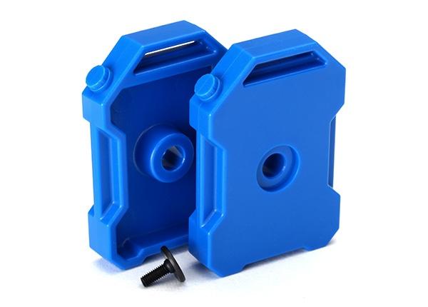 Traxxas Benzin-Kanister (blau) (2)/ 3x8 FCS TRX-4 (1)