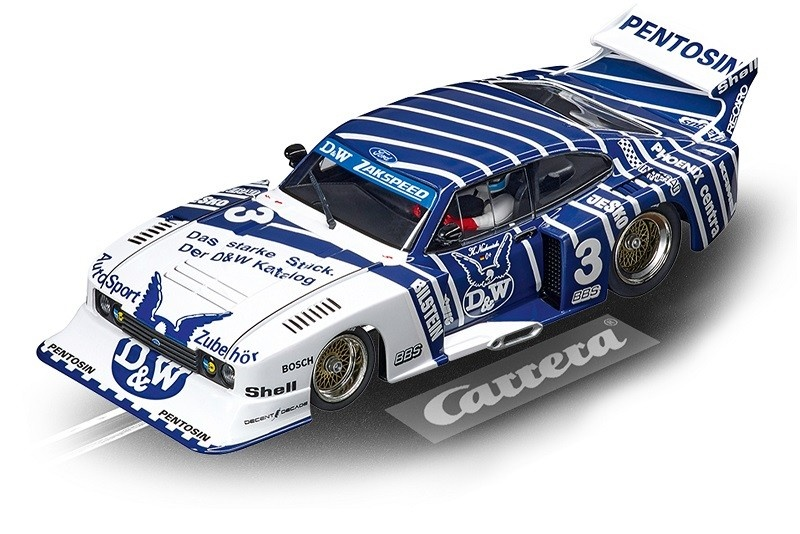 Carrera Evolution Ford Capri Zakspeed Turbo