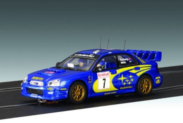 AutoArt Subaru New Age Impreza WRC 2003 P.Solberg/P.Mills #7