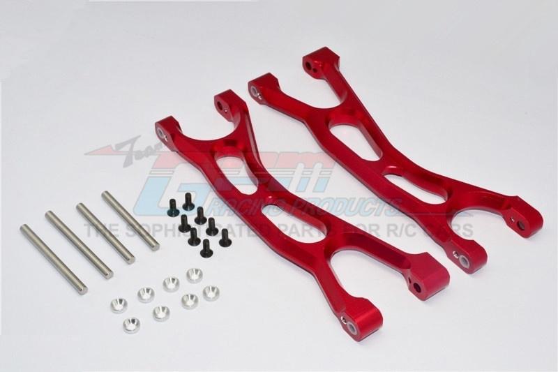 GPM aluminium front/rear upper arms - 1 PR for Traxxas