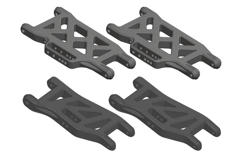 Team Corally Suspension Arm - FR/RE - Composite - 1 Set