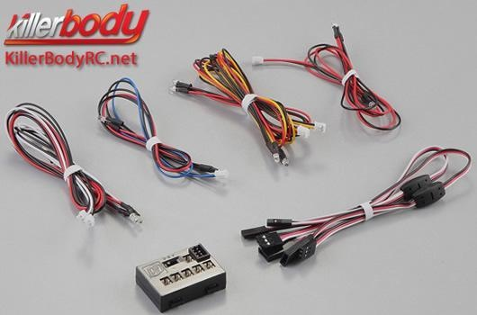 Killerbody Lichtset -  Scale - LED - Unit Set m. Control Box