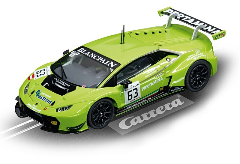 Carrera Digital 132 Lamborghini Huracan GT3 No.63 --LOSE--