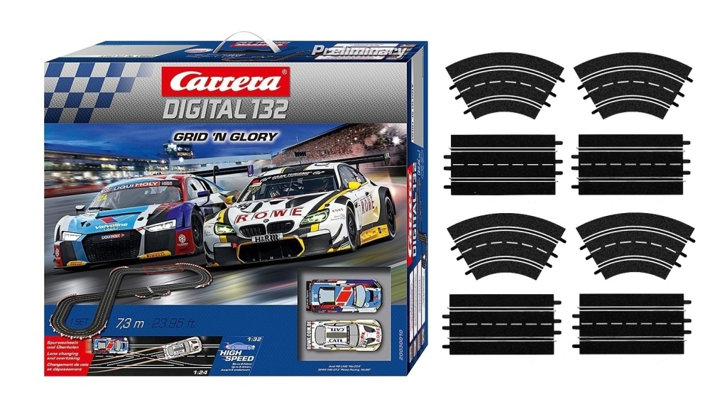 Carrera Digital 132 Grid n Glory  --SPARSET 2--