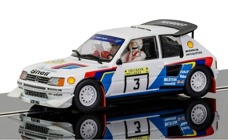 Scalextric Peugeot 205 T16 1985 1000 Seen