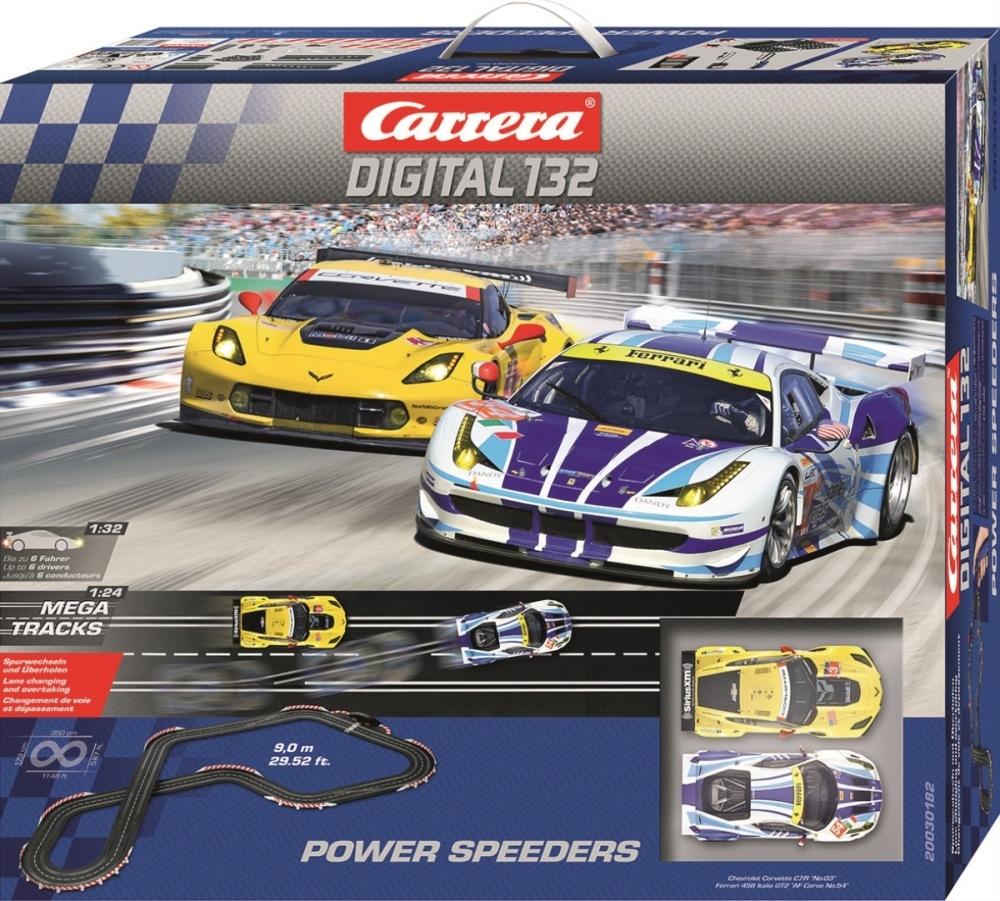 Auslauf - Carrera Digital 132 Power Speeders