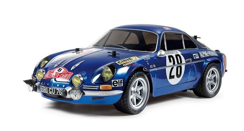 Tamiya Renault Alpine A110 Monte Carlo 1971 Bausatz 1:10