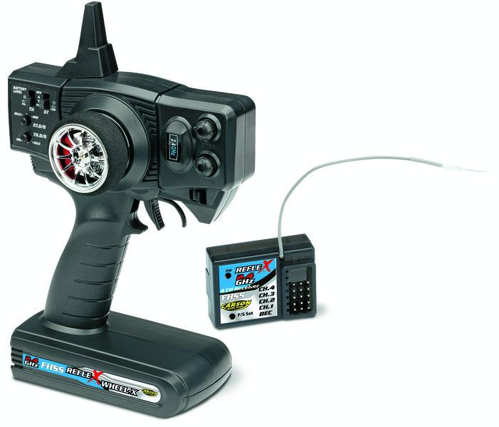 Carson Reflex Wheel-X 2-Kanal BEC 2.4GHz