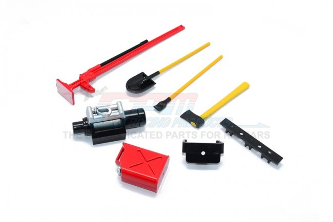 GPM Scale accessories: plastic tool set for crawlers - 7PC