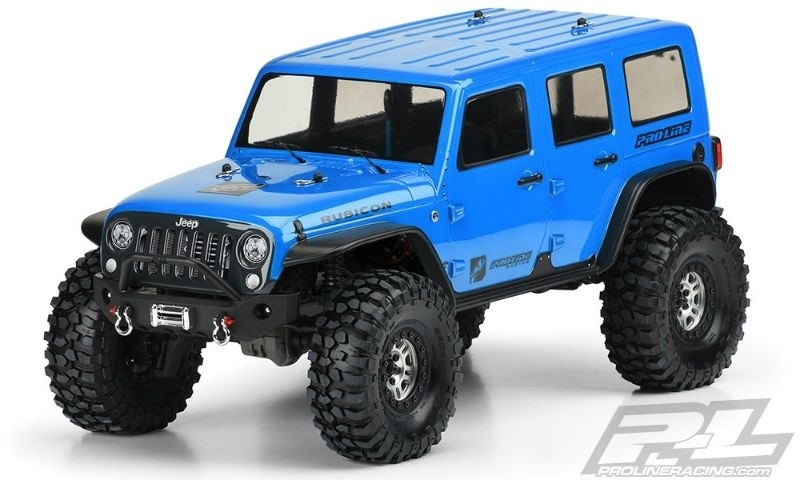 Pro Line Jeep Wrangler Unlimited Rubicon Karosserie klar