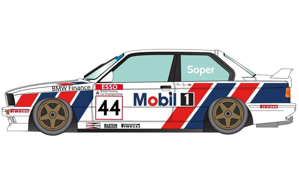 Scalextric BMW E30 M3 #44 1991 Soper