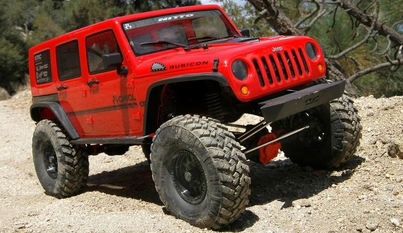 Axial SCX 10 II Jeep Wrangler Rubicon 4WD 2.4GHz RTR 1:10