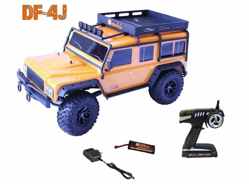 DF-Models DF-4J XXL Crawler 2.4GHz RTR 1:10