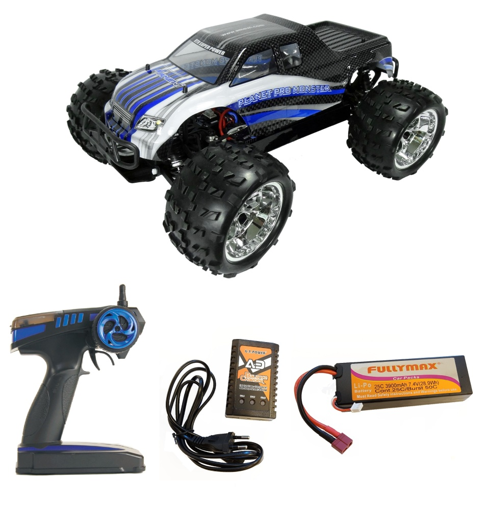 Amewi Pro 4WD Brushless Monster Truck 2.4GHz RTR 1:8