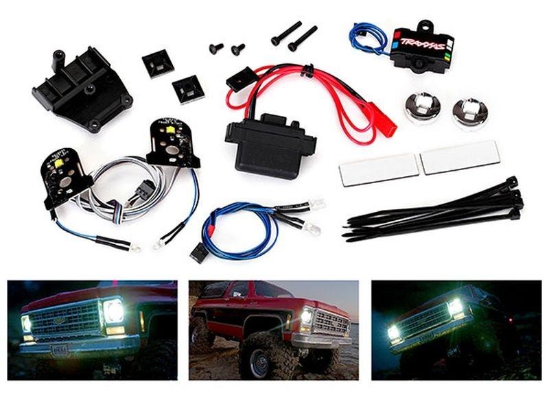 Traxxas LED Licht-Set komplett mit Power Supply für 8130