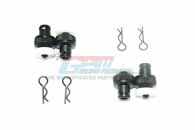 GPM aluminium front & rear magnetic body posts - 8PC Set for