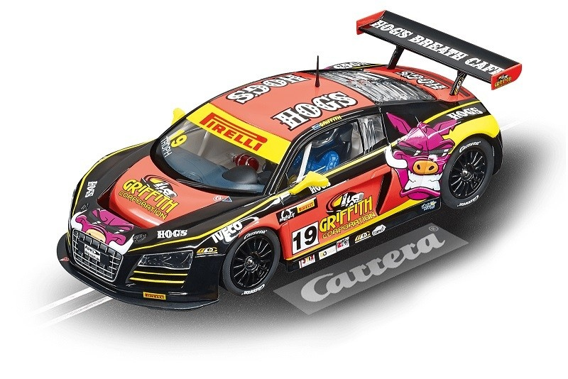 Auslauf -Carrera Digital 124 Audi R8 LMS M.Griffith, No.19