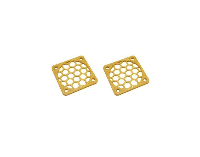 JS-Parts Lüftergitter 30mm / 2 Stück (Set) gold