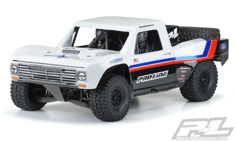 Pro-Line PRE-CUT 1967 FORD F-100 Race Truck Karo klar